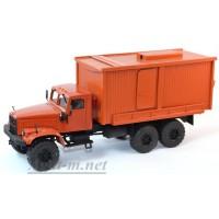 34005-КРЗ КрАЗ-255 Геологоразведочный, оранжевый