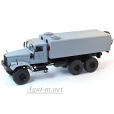 34019-КРЗ КрАЗ-255 аварийный водопроводный, серый