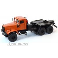 36020-КРЗ КрАЗ-255 платформоседельный тягач,оранжевый