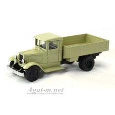 001-01-ЛОМ ЗИС-5 грузовик бортовой без тента серый