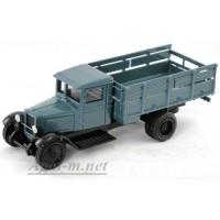214-01-ЛОМ ЗИС-5 грузовик военный со съемным кузовным оборудованием, синий