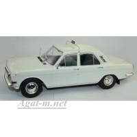 18017-MCG Горький-М 24 «Волга» такси ГДР 1970 Белый