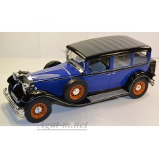 18033-MCG MERCEDES-BENZ Type Nuerburg 460/460 K (W08) 1928 Blue/Black