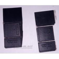 001-МРС Брызговики для модели автомобилей МАЗ (6шт.)
