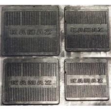 004-МРС Брызговики для модели автомобилей Камский рифленые (4шт.)