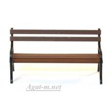 003-МАФ Лавочка коричневая
