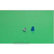 """006С-АРТ-С-МАХ Проблесковый маяк FER DDR """"стакан"""" со вставкой синий, 1шт."""