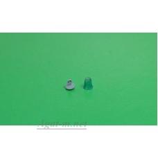 "006З-АРТ-С-МАХ Проблесковый маяк FER DDR ""стакан"" со вставкой зеленый, 1шт."