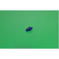 """008С-АРТ-С-МАХ Проблесковый маяк FER DDR """"капля"""" цельнолитой синий, 1шт."""