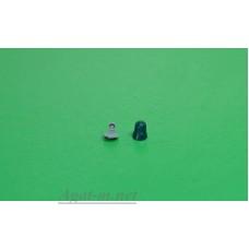 """Проблесковый маяк FER DDR """"капля"""" со вставкой зеленый, 1шт."""