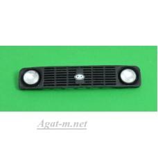 05-ИЭ-А43-ММ-МАХ Решетка радиатора прорезанная для ВАЗ-21214 с линзами Ornst