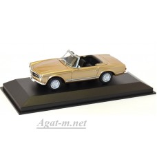 940 032230-МЧ MERCEDES-BENZ 230SL-1965-GOLD METALLIC