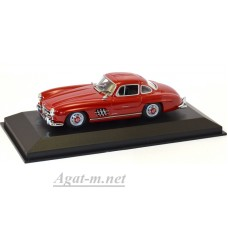 940 039001-МЧ MERCEDES-BENZ 300 SL (W198 I) 1955-DARK RED