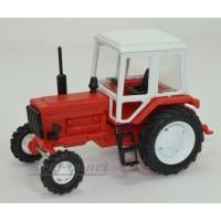 160002-МЛП Трактор МТЗ-82 пластик, красный