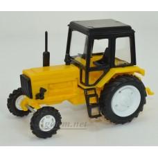 160003-МЛП Трактор МТЗ-82 пластик, желтый