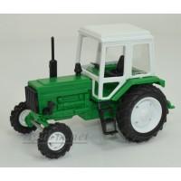 160004-МЛП Трактор МТЗ-82 пластик, зеленый
