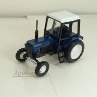 "160361-МЛП Трактор МТЗ-82 ""Люкс-2"" (фиолетовый кабина металл)"