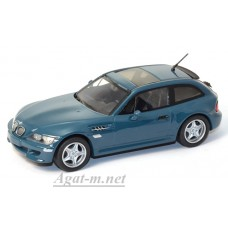 400 029061-МЧ BMW M COUPE 2002г. серо-синий