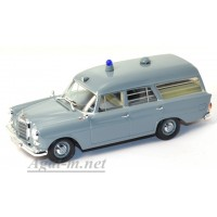 400 037270-МЧ MERCEDES 190 AMBULANCE 1961г. серый