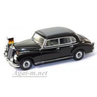 """52089-МЧ Mercedes 300b Limousine """"Konrad Adenauer"""" черный"""