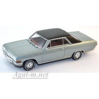 400 048020-МЧ OPEL DIPLOMAT V8 COUPE 1965г. SILVER