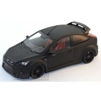 400 088106-МЧ FORD FOCUS RS 500 2010г. MATT BLACK - WITH RED SEATS