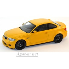 410 020027-МЧ BMW 1ER COUPE 2011г. YELLOW
