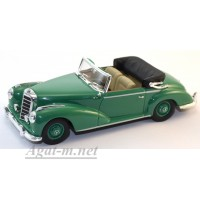 430 032335-МЧ MERCEDES 300S CABRIOLET (W188) 1954г. GREEN