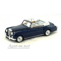 436 139960-МЧ BENTLEY S2 CABRIOLET 1960г. темно-синий