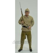 1528mkaut-МС Красноармеец с винтовкой за спиной (тип-3)