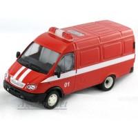 13731-САР Модель Фургон пожарный косые фары