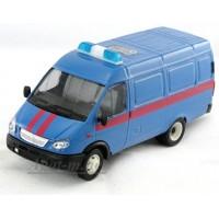 13861-САР Модель фургон Судебные приставы косые фары, синий