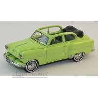 43737-НЕО OPEL Olympia Limousine Cabrio 1954 зеленый