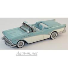 44070-НЕО Buick Roadmaster Convertible 1957 белый/светло-синий