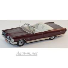 44101-НЕО Pontiac Bonneville Convertible 1965 красный металик