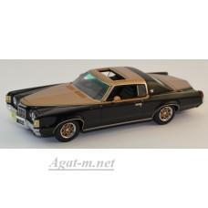 44117-НЕО Pontiac Grand Prix Hurst SSJ 1972 черно-золотой