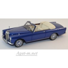 44155-НЕО Bentley SII Continental Convertible Park Ward 1959 синий металик