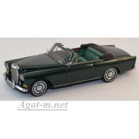 44162-НЕО Bentley SII Continental Convertible Mulliner Park Ward 1963 зеленый