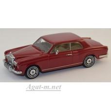 44185-НЕО Rolls Royse Corniche FHC 1971 темно-красный