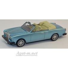 44190-НЕО Rolls Royse Corniche Convertible 1977 синий металик