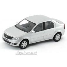 0097-НОР Renault Logan 2008г. серебристый