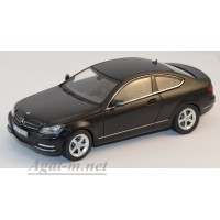 351320-НОР Mersedes-Benz C250 Coupe 2011 Matt.Nightblack Magno