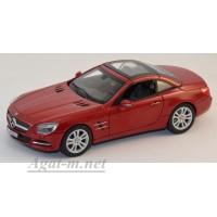 351340-НОР Mersedes-Benz SL500 Cabriolet (R231) 2011 красный металик