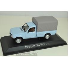 475447-НОР PEUGEOT 504 Pick-Up 4x4 с тентом 1985 Clear Blue