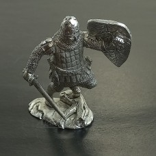 54-НОК Русский воин в бою, XIII век