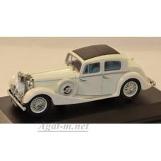001JSS-OXF Jaguar SS 2.5 Saloon white.