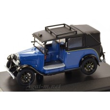 002AT-OXF AUSTIN Low Loader Taxi Blue 1934