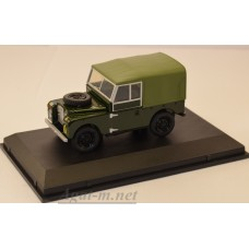 "LAN188020-OXF LAND ROVER Series 1 88"" Canvas REME 1950"