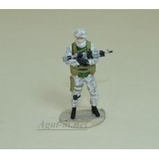 43F21Б-ОПС Российский солдат в зимнем камуфляже №3