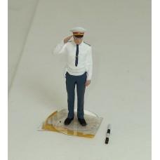43F64А-ОПС Инспектор ГАИ в белой рубашке